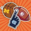 CollegeMoji for GBoard: Collegiate Stickers Emojis icon