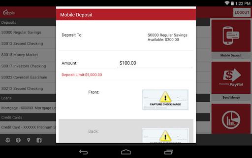 Apple Federal Credit Union Screenshot
