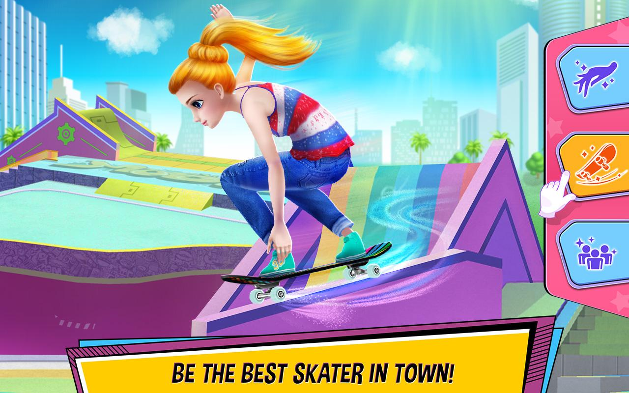 City Skater - Rule the Skate Park!- screenshot
