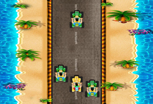 Quad Bike Beach Racing