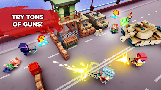 Pixel Arena Online Multiplayer Blocky Shooter 1.20.0 MOD (Unlimited Coins/Crystals) Apk 4