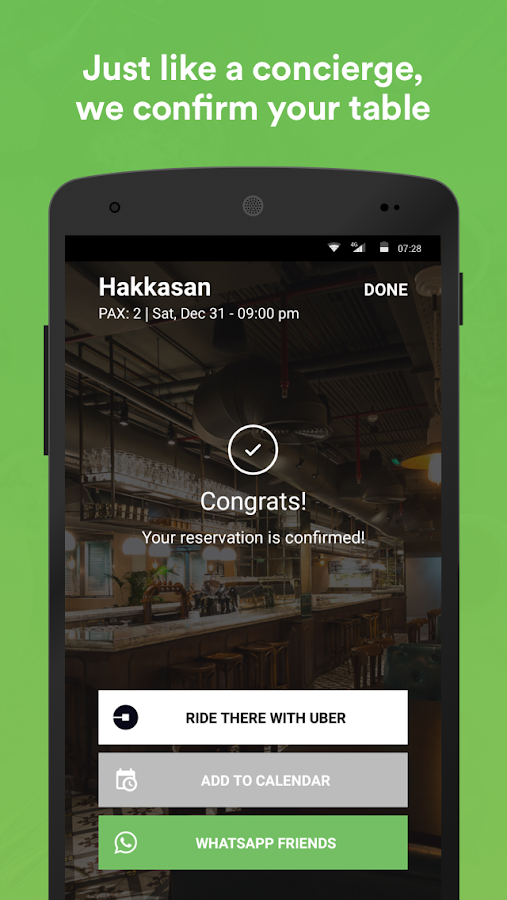 Eat - Restaurant Reservations- screenshot