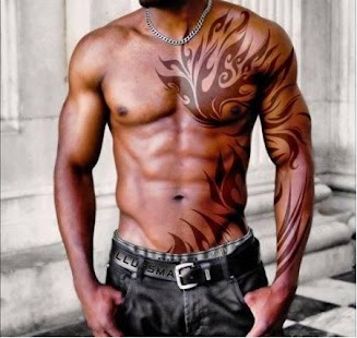 Pánské tetování - náhled