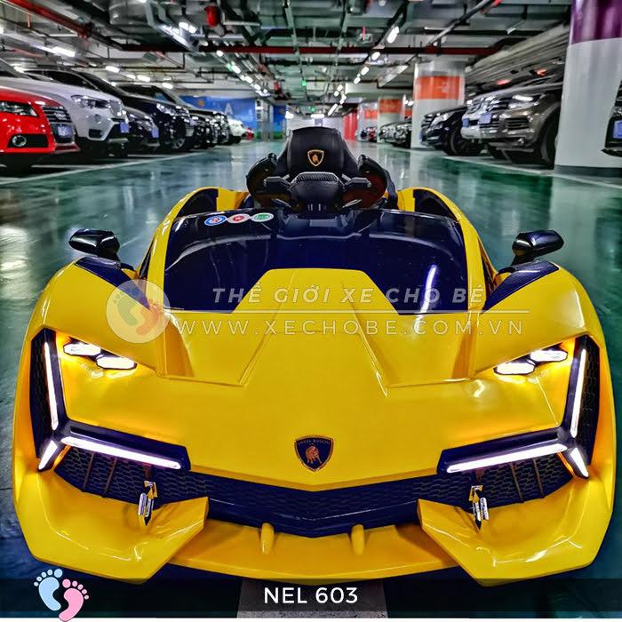 xe ô tô điện trẻ em Lamborghini NEL-603 19