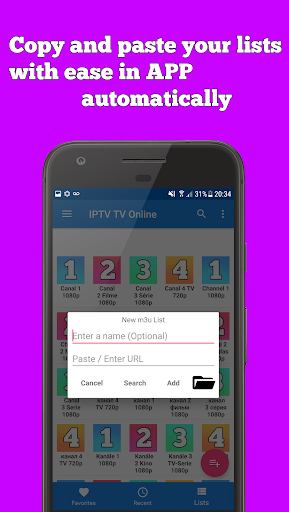 IPTV - Movies, Free TV Shows, IP TV, Tv Online 1.1.6 screenshots 5