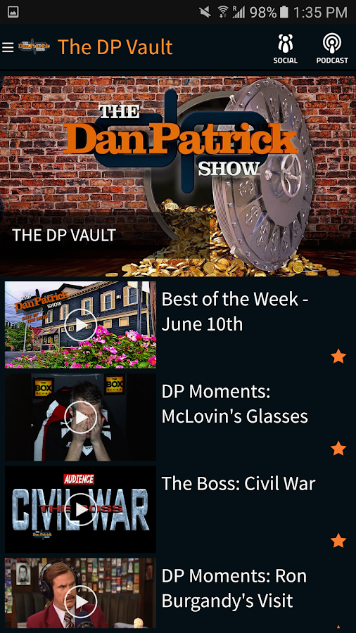 The Dan Patrick Show- screenshot