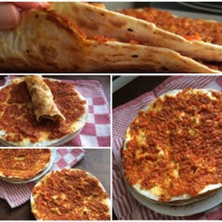 Easy Turkish Pizza (lahmacun).