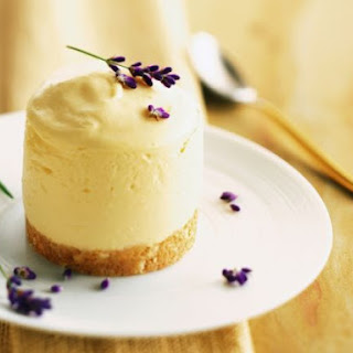 Floral Citrus Pudding Cake