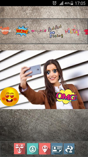 New Best Funny Free Live Emoji Face Sticker