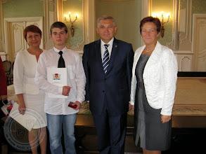 """Photo: Rozdanie medali """"Diligentiae - za pilność"""" (3.09.2013)"""