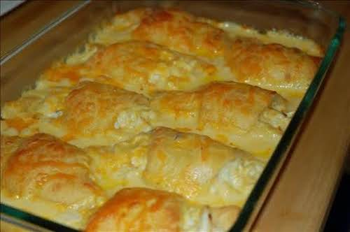 """Cheesy Chicken Crescent Roll """"This was a great recipe and so easy..."""