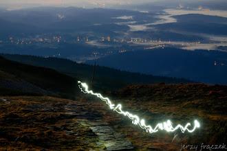 Photo: Świetlisty szlak ;-)