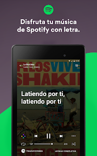 Musixmatch Music Player Letras: miniatura de captura de pantalla