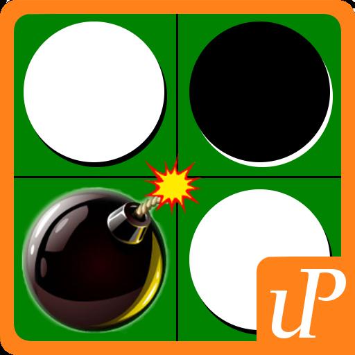 [暇つぶし 超絶クソゲー リバーシ] からくリバーシ 棋類遊戲 App LOGO-硬是要APP