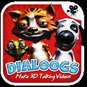 Dialoogs - 3D Talking Videos icon