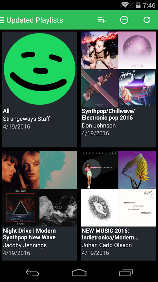 Companion 4 Spotify- screenshot