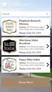 Prophetic Research Ministry- screenshot thumbnail