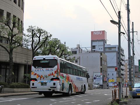 大分バス「トロピカル号」 42164 大分金池ターミナル到着 その4