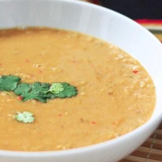 Spiced Coconut Lentil Soup Recipe