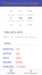 Date Calculator  , Calculate Age , Days 1.1 (MOD + APK) Download 1
