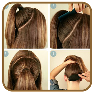 Pleasing Easy Hairstyles Step By Step Android Apps On Google Play Hairstyles For Men Maxibearus