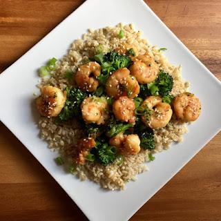 Shrimp & Broccoli Stir-Fry.