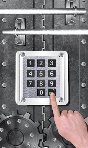 Open Gate Screen Lock