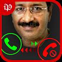 Fake Call Kejriwal icon