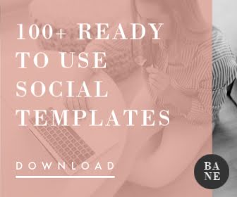 Over 100 Social Templates - Large Rectangle Ad Template