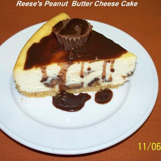 Reese's Peanut Butter Cheese Cake.