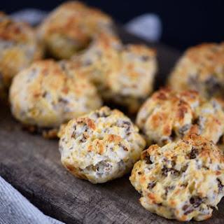 Sausage Cheddar Biscuit Balls