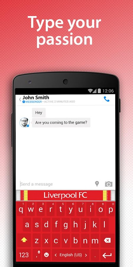 Liverpool FC Official Keyboard- screenshot