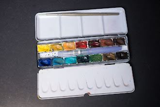 Photo: Kremer Pigments 14 Full Pan Watercolour Box Set - http://www.parkablogs.com/node/10813