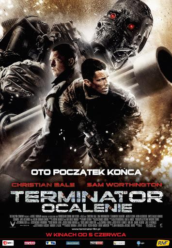 Polski plakat filmu 'Terminator: Ocalenie'