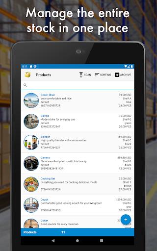 Storage Manager : Stock Tracker screenshot 17