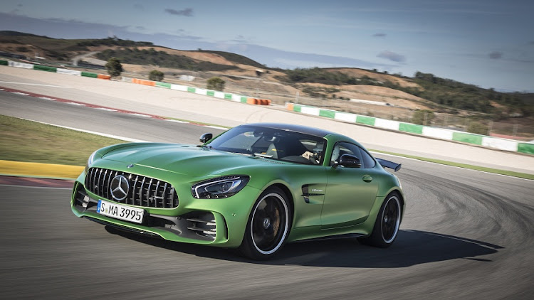 Mercedes-AMG GT R. Picture: MERCEDES-BENZ