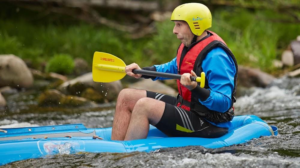Grenzerfahrung in der Albtal Arena beim Soft-Rafting