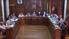 Pleno celebrado este lues en el Ayuntamiento de Vera.