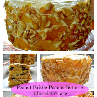 Peanut Butter Brittle Cake