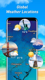 Weather forecast & weather alerts & forecast radar APK image thumbnail 6