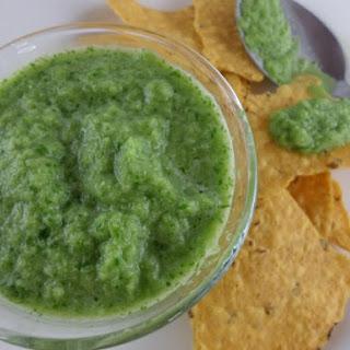 Fresh Jalapeño Salsa.