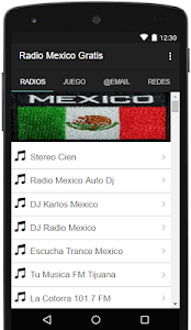 Radio Mexico Gratis screenshot 0