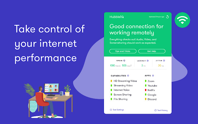 WiFi Performance, Outage, and Speed Test