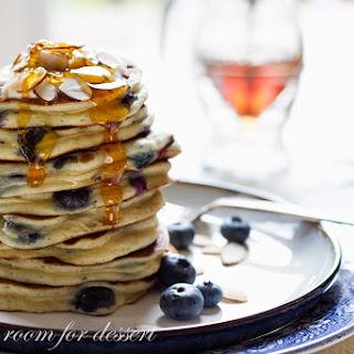 Blueberry Greek Yogurt Pancakes Recipe
