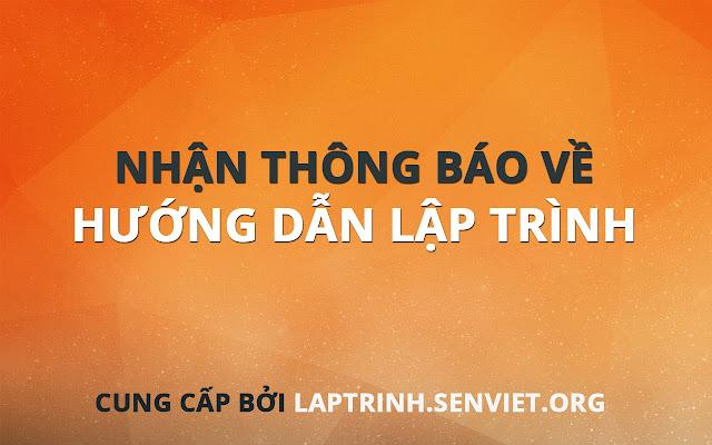Sen Việt Notifications