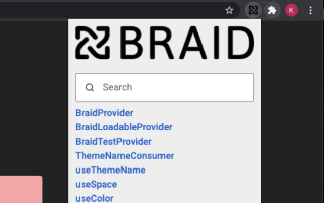 Braid Lookup Extension