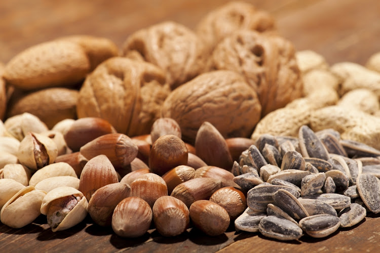 Getting a large portion of protein from nuts and seeds could be beneficial for heart health according to new research.