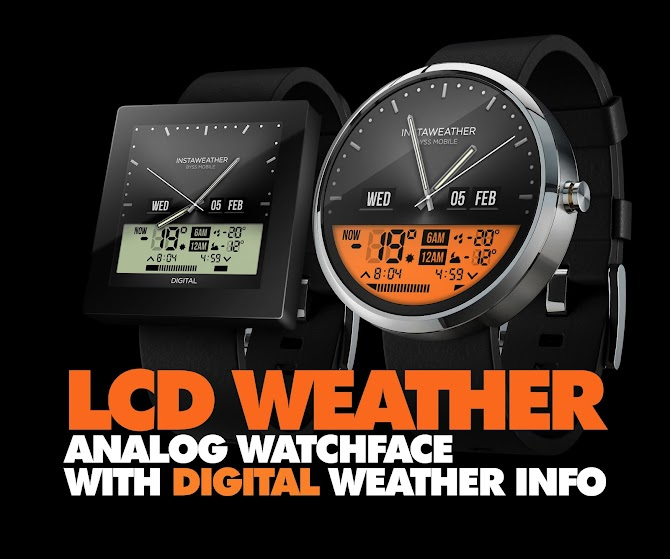 InstaWeather for Android Wear Android 1