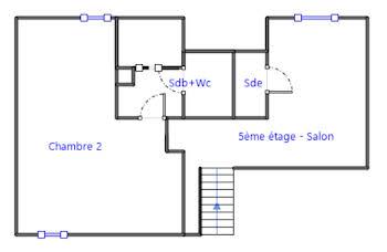 Appartement 5 pièces 123,84 m2