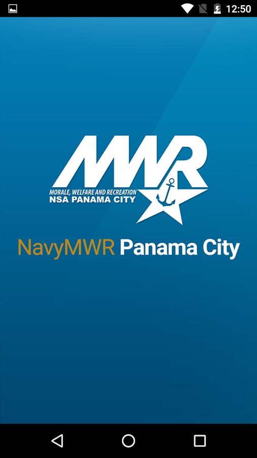 NavyMWR Panama City- screenshot